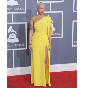 Amber Rose aux Golden Globes 2012