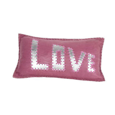 Grand coussin Love