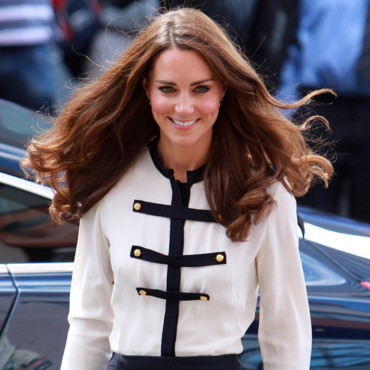 Kate Middleton et ses cheveux longs