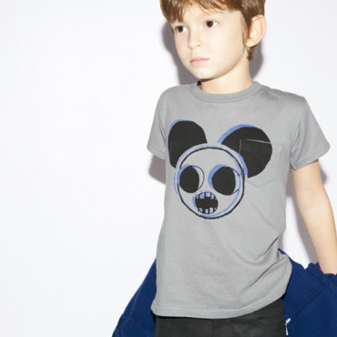 La mode enfant de la rentrée : le tee-shirt Little Marc Jacobs