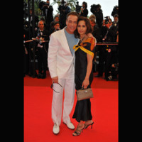 Photo : Jean-Claude Van Damme et sa femme au Festival de Cannes 2008