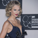 Taylor Swift aux MTV VMA à New York le 25 août 2013.