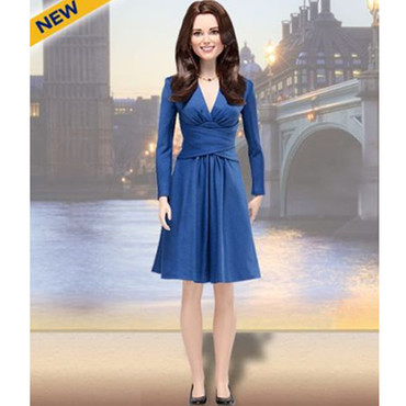 Kate Middleton version poupée Barbie