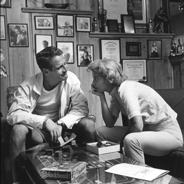 people : Paul Newman et Joanne Woodward