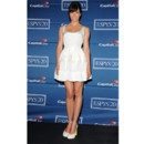 Jessica Biel en robe girly blanche