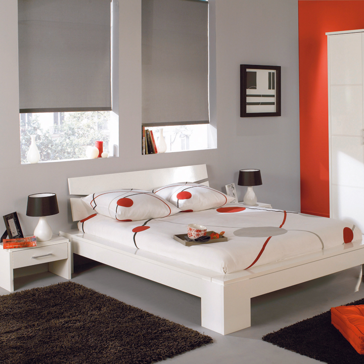 La nouvelle collection conforama 2010 la chambre parentale zen blanc conforama d co for Chambre zen conforama