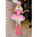 Nicki Minaj en robe tutu Barbie