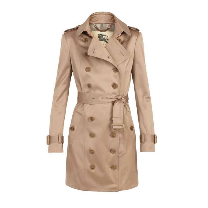 Burberry Nude Trench Coat