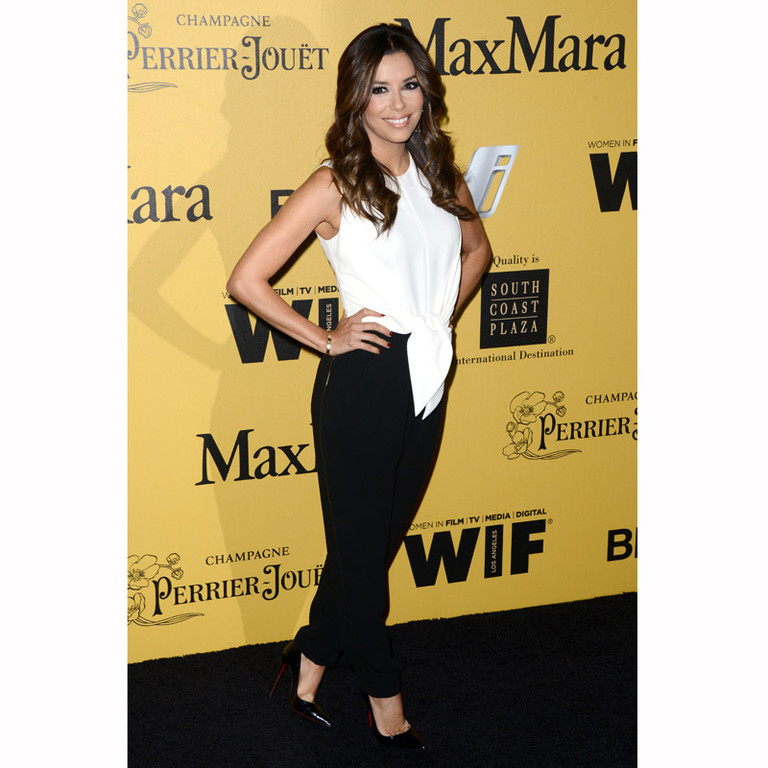 Eva Longoria à Los Angeles aux Crystal + Lucy Awards organisée par l'association Women In Film le 11 juin 2014.