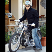 Photo : Ewan McGregor sur sa moto