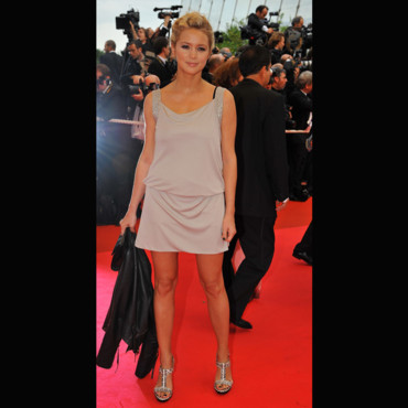 people : Virginie Efira au Festival de Cannes 2008