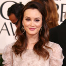 Leighton Meester aux Golden Globes