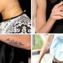 Tatoo-stars :  qui appartiennent ces tatouages ?