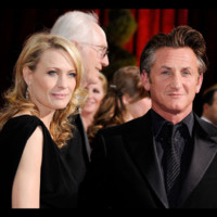Photo : Sean Penn et Robin Wright aux Academy Awards en février 2009