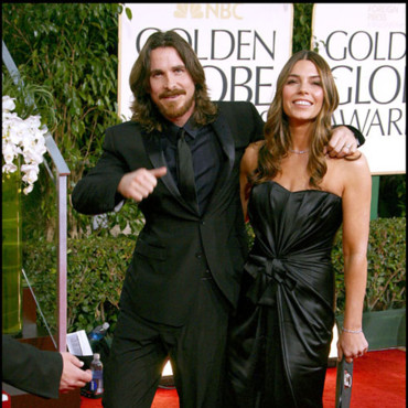 Christian Bale couple