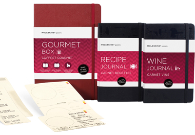 Gourmet Journal Box Moleskine BHV
