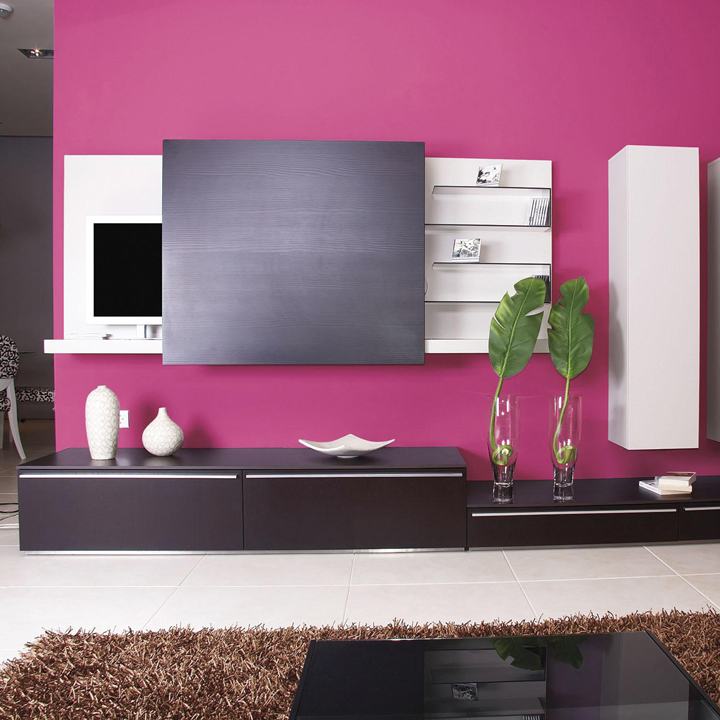 les nouvelles peintures la mode la peinture cassis agatha ruiz de la prada by bondex d co. Black Bedroom Furniture Sets. Home Design Ideas