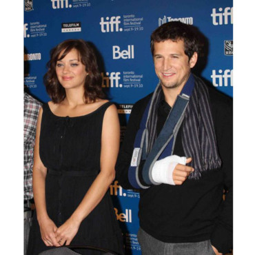 Marion Cotillard et Guillaume Canet lors du Festival du Film de Toronto 2010