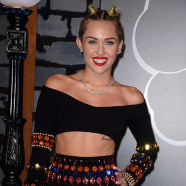 Miley Cyrus aux MTV VMA à New York le 25 août 2013.