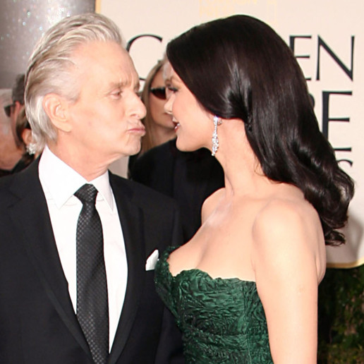 Catherine Zeta Jones et Michael Douglas aux Golden Globes
