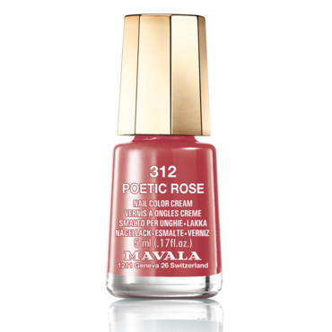 Vernis à ongles Poetic rose MAVALA collection sublime à 5,40 euros