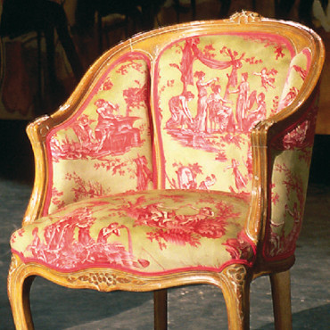 Fauteuil Atelier Philippe Coudray Bergère Chinon