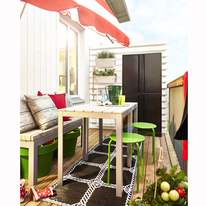 nouveaut s ikea printemps et 2014 plut t jardin ou balcon table fallster chez ikea d co. Black Bedroom Furniture Sets. Home Design Ideas