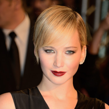 Jennifer Lawrence à Paris pour la première de Hunger Games Catch Fire le 15 novembre 2013