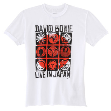 T-shirt David Bowie - Universal Music France
