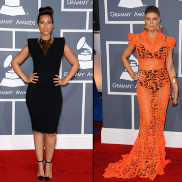 Grammy Awards Alicia Keys et Fergie