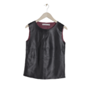 Le top en cuir &Other Stories, 125 euros