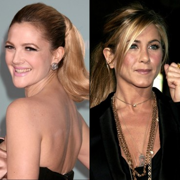Drew Barrymore et Jennifer Aniston