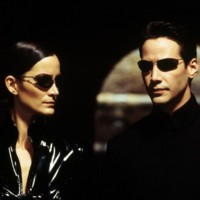 Photo : Carrie-Anne Moss et Keanu Reeves dans Matrix Reloaded