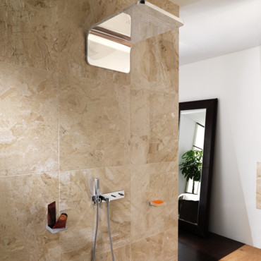 Porcelanosa la nouvelle collection encore plus design for Douche porcelanosa