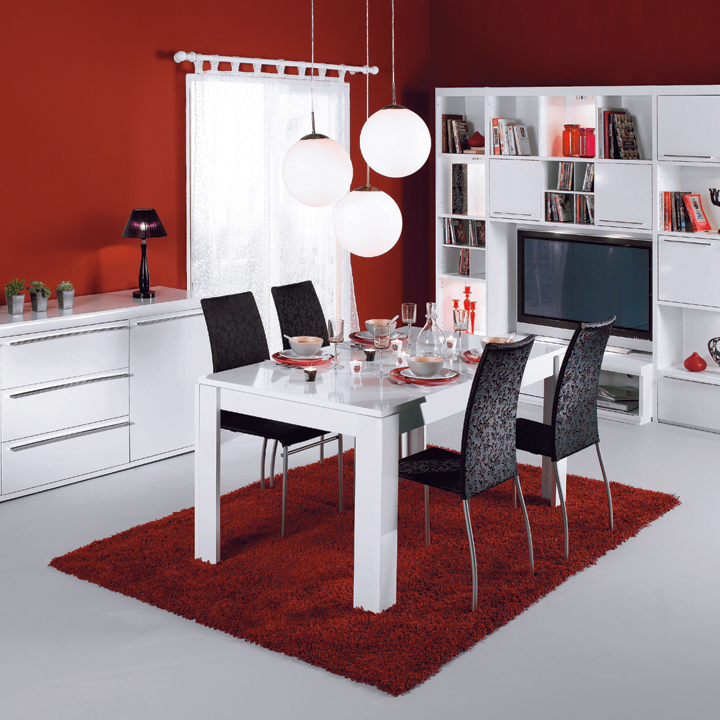 la nouvelle collection conforama 2010 la salle manger white conforama d co. Black Bedroom Furniture Sets. Home Design Ideas