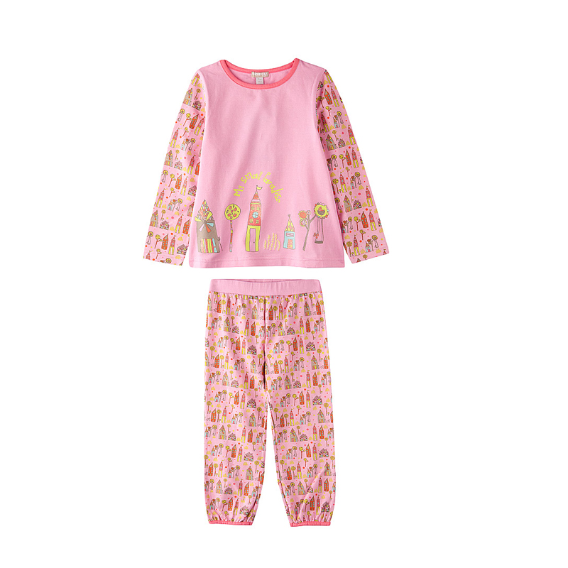 mode enfant 10 pyjamas trop jolis pour petites filles pyjama rose de chez absorba maman. Black Bedroom Furniture Sets. Home Design Ideas