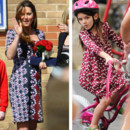 Kate Middleton vs Suri Cruise : la robe fleurie