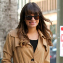 Lea Michele et son brushing
