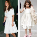 Kate Middleton vs Suri Cruise : la robe blanche