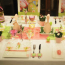 La table de Stef ou la gourmandise rose