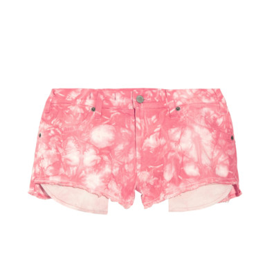 Le short Tie and dye Textile Elizabeth James 194 euros sur Net à Porter