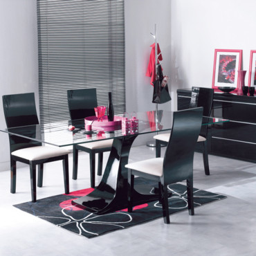 la nouvelle collection conforama 2010 la salle manger black conforama d co. Black Bedroom Furniture Sets. Home Design Ideas