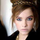 Maquillage Chanel Byzance : backstage du défilé