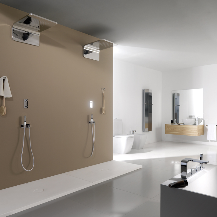Porcelanosa la nouvelle collection encore plus design for Meuble salle de bain porcelanosa