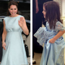 Kate Middleton vs Suri Cruise : la robe bleue