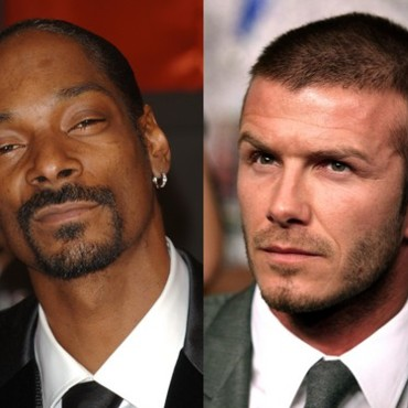 people : Snoop Dogg et David Beckham