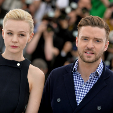 Justin Timberlake et Carey Mulligan posent lors du photocall à Cannes, le 19 mai 2013.