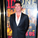 Simon Cowell à l'avant première mondiale de One Direction This is Us à Londres le 20 août 2013
