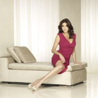 Desperate Housewives : Eva Longoria, Teri Hatcher, Marcia Cross, Felicity Huffman sur red carpet