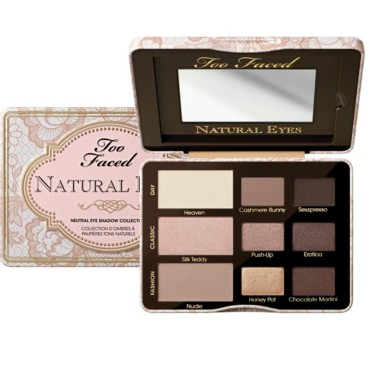 Palette Natural Eyes de Too Faced 35 euros